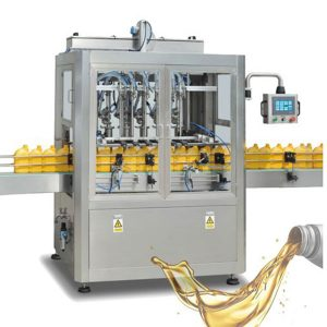 100 - 5000 मिलीलीटर तरल साबुन भरने की मशीन तेल भरने लाइन