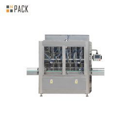 PLC Control 10 Heads Gravity Bottle Filling Machine For 1 – 5L Bleach Cleaner