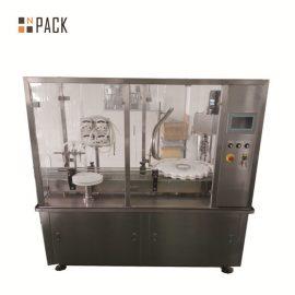 कुशल लोशन भरने की मशीन / स्वचालित कॉस्मेटिक बोतल भरने की मशीन