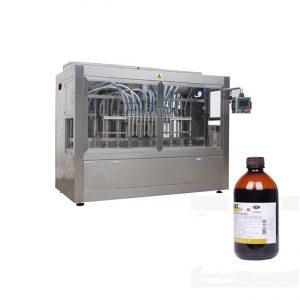 पशु चिकित्सा दवा तरल बोतल भरने लाइन / संक्षारक तरल भरने की मशीन लाइन