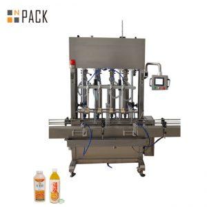 कम / उच्च चिपचिपापन तरल पदार्थ के लिए 10 प्रमुख पेस्ट भरने की मशीन वाइड फिलिंग रेंज