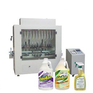 एंटी-करोसिन कीटाणुनाशक तरल हाथ प्रक्षालक और शराब तरल भरने की मशीन