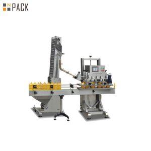 वायवीय प्लास्टिक जैरी रैखिक प्रकार की संरचना के साथ मशीन कैपिंग कर सकती है