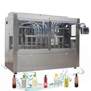 जंग प्रतिरोधी स्वत: तरल भरने लाइन कपड़े धोने डिटर्जेंट भरने की मशीन