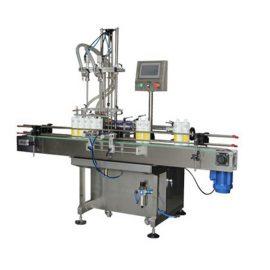 डिटर्जेंट दो सिर तरल भरने की मशीन 0.5-2L