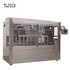 पीईटी बोतल के लिए उच्च फोमिंग स्वचालित तरल भरने की मशीन रैखिक प्रकार 12 प्रमुख