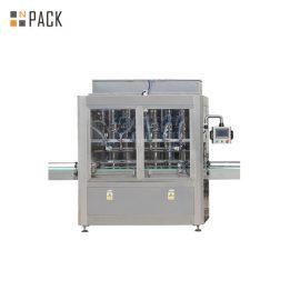 पिस्टन पंप के साथ 10ml-100ml ई-तरल बोतल भरने कैपिंग मशीन और लेबलिंग पैकिंग लाइन