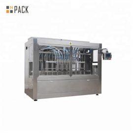 12 प्रमुख पिस्टन भरने की मशीन सर्वो भरने की मशीन 50BPM भरने की गति