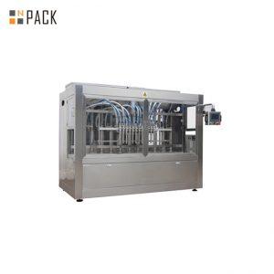 धातु तरल बोतल भरने की मशीन / बाल जेल बोतल भरने और कैपिंग मशीन
