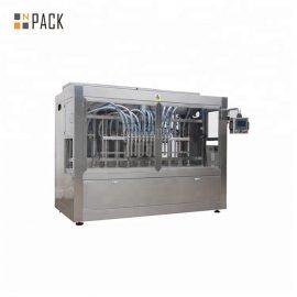 0.5-5L ड्रिप प्रूफ कपड़े धोने का तरल डिटर्जेंट भरने की मशीन 12 नोजल 3000 बी / एच