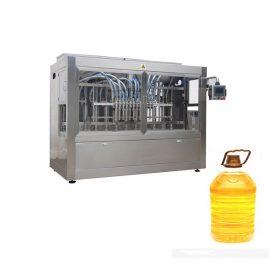 पिस्टन भरने की मशीन और स्वचालित बोतल लेबलर के साथ औद्योगिक स्वचालित तरल भरने की रेखा