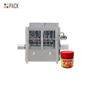 घर्षण प्रतिरोध सॉस भरने की मशीन जाम भरने की मशीन 304 स्टेनलेस स्टील