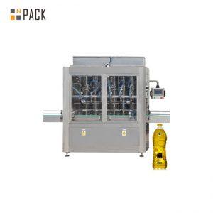0.5-80L के लिए 30-80 बी / मिनट स्वचालित 8 सिर रैखिक इमदादी मोटर नियंत्रण पिस्टन भरने की मशीन