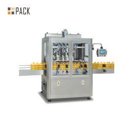 कॉस्मेटिक / खाद्य उद्योग के लिए औद्योगिक स्वचालित तरल भरने की मशीन