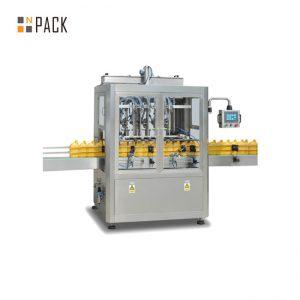 शैम्पू के लिए आसान रखरखाव पेस्ट भरने की मशीन / 6 सिर भरने की मशीन