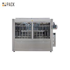 टर्नकी स्वचालित रैखिक 2 से 24 प्रमुख बोतलें टमाटर पेस्ट तरल भरने की मशीन
