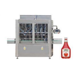 स्वचालित चिपचिपाहट पेस्ट शहद तेल टमाटर सॉस पेस्ट तरल भरने की मशीन