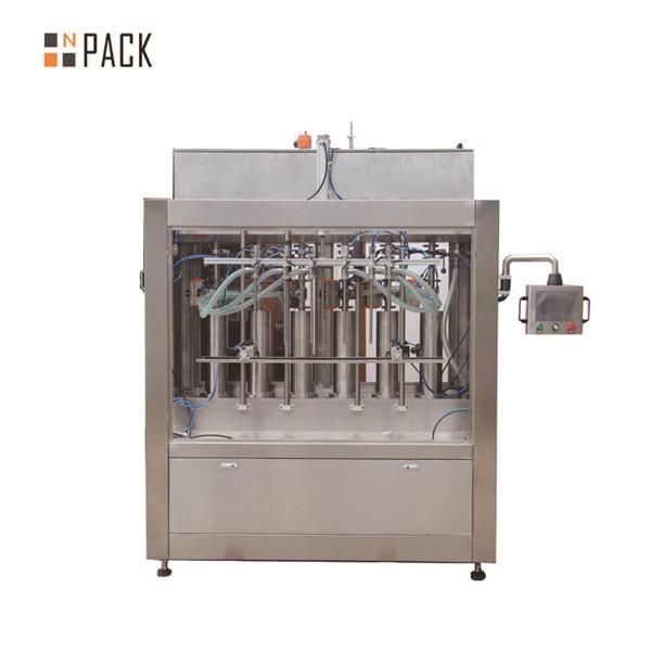 बोतल भरने के लिए वायवीय क्रीम पेस्ट तरल भरने की मशीन