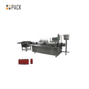 इमदादी मोटर नियंत्रण पेस्ट भरने की मशीन, 5g-100g जार कॉस्मेटिक क्रीम भरने की मशीन