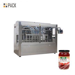 टमाटर का पेस्ट वाणिज्यिक बॉटलिंग मशीन