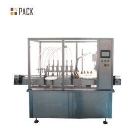 शीशी ई-तरल भरने वाली स्टापिंग कैपिंग उत्पादन लाइन
