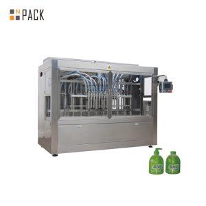 100 मिलीलीटर -1 एल तरल साबुन / लोशन के लिए 16 नोजल पिस्टन उच्च चिपचिपापन तरल भरने की मशीन