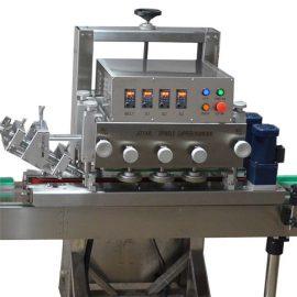 एक सिर बोतल कैपिंग मशीन / ROPP एल्यूमीनियम पेंच कैप Crimping मशीन