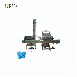 एकल सिर रोटरी कैपिंग मशीन सर्वो मोटर संचालित पैकेजिंग मशीन