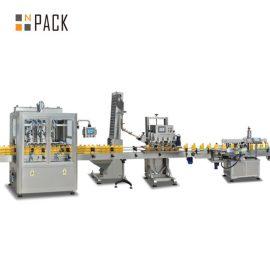 तरल साबुन की बोतल भरने की लाइन स्वचालित शैम्पू भरने की मशीन स्थिर संचालन